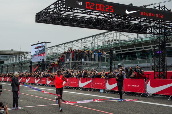 Nike Breaking2 Finish Eliud Kipchoge native 600